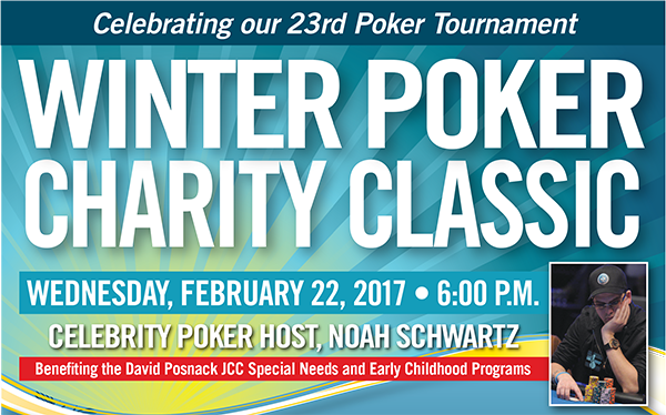 Winter Poker Charity Classic 2017 - Wednesday, February 22, 2017 - 6:00 p.m.